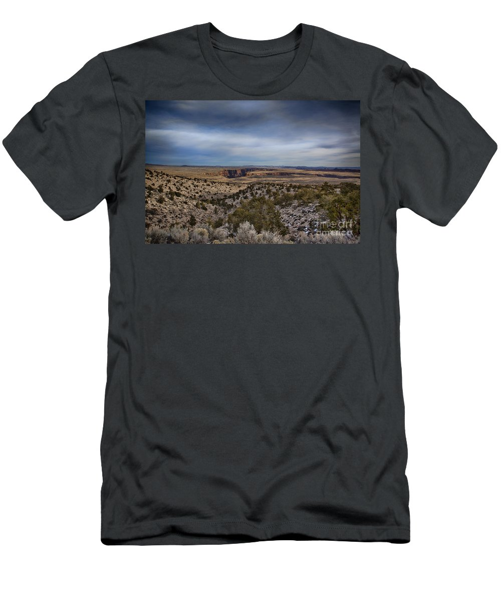 Grand Canyon Men's T-Shirt (Athletic Fit) featuring the photograph Edges Of The Grand Canyon by Douglas Barnard