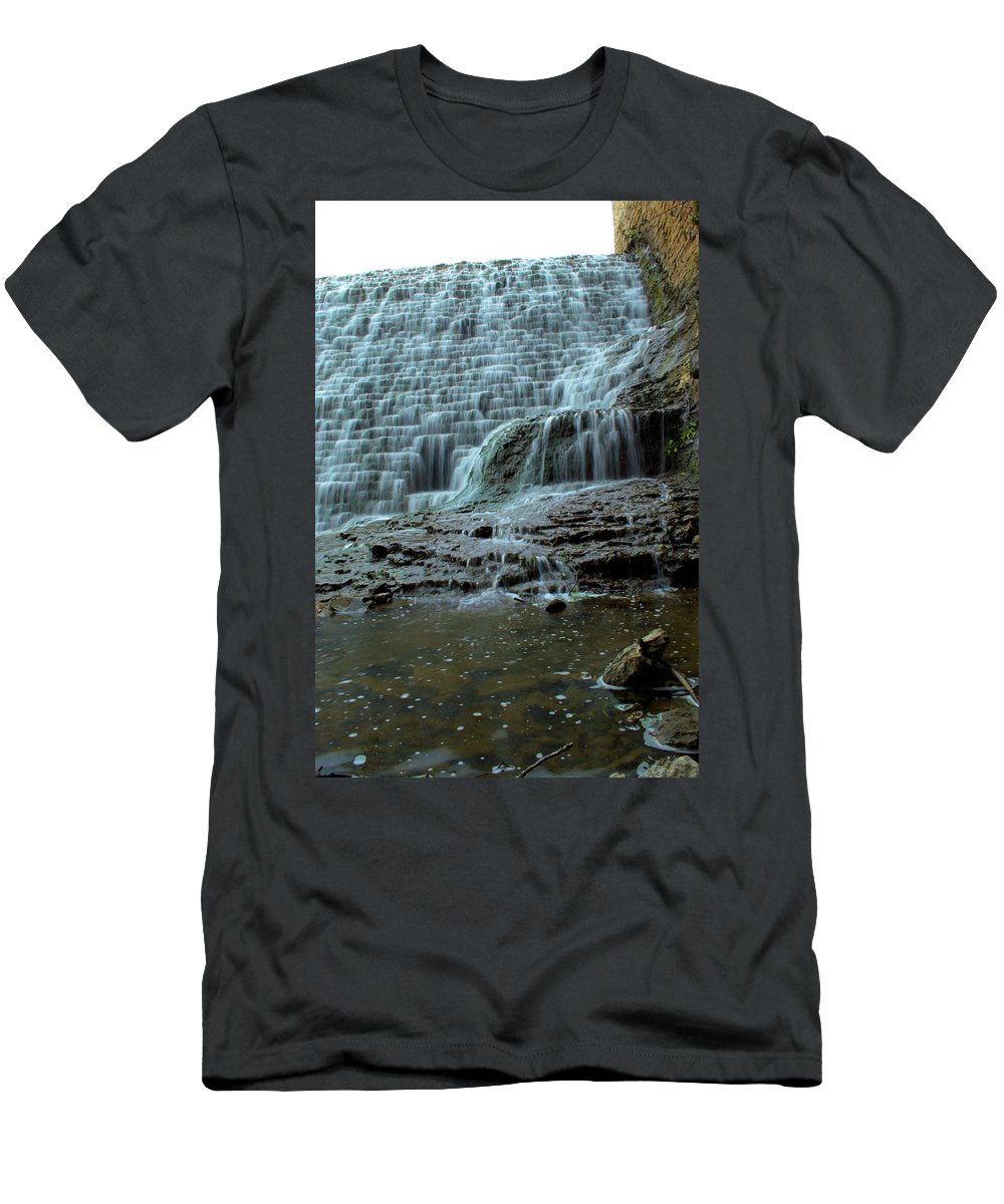 Dam Men's T-Shirt (Athletic Fit) featuring the photograph Eighty Years by Bonfire Photography