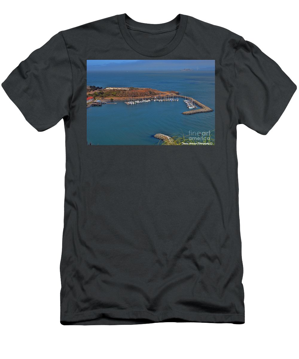 Escobedo Bay Men's T-Shirt (Athletic Fit) featuring the photograph Escobedo Bay by Tommy Anderson