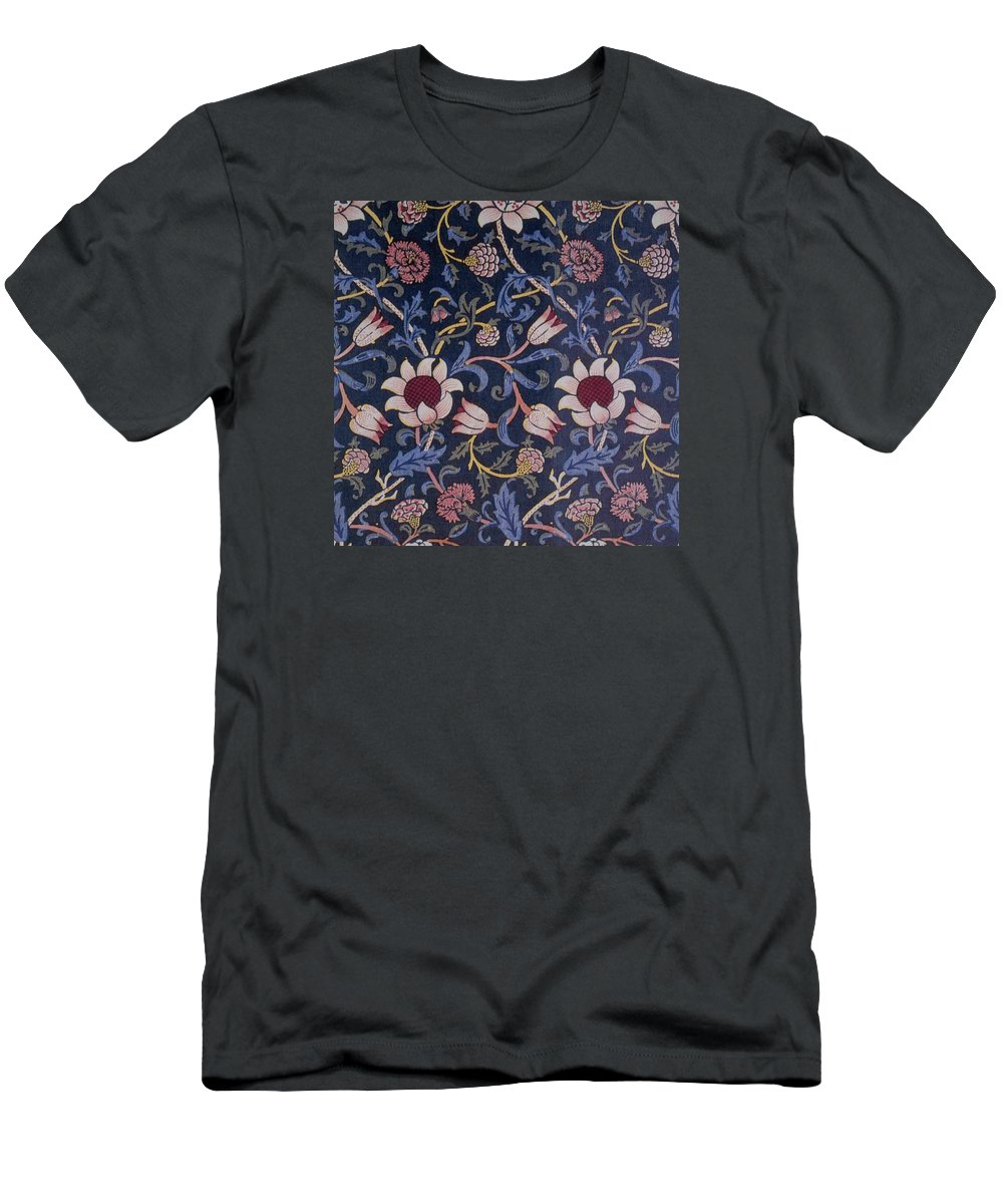 William Men's T-Shirt (Athletic Fit) featuring the tapestry - textile Evenlode Design by William Morris