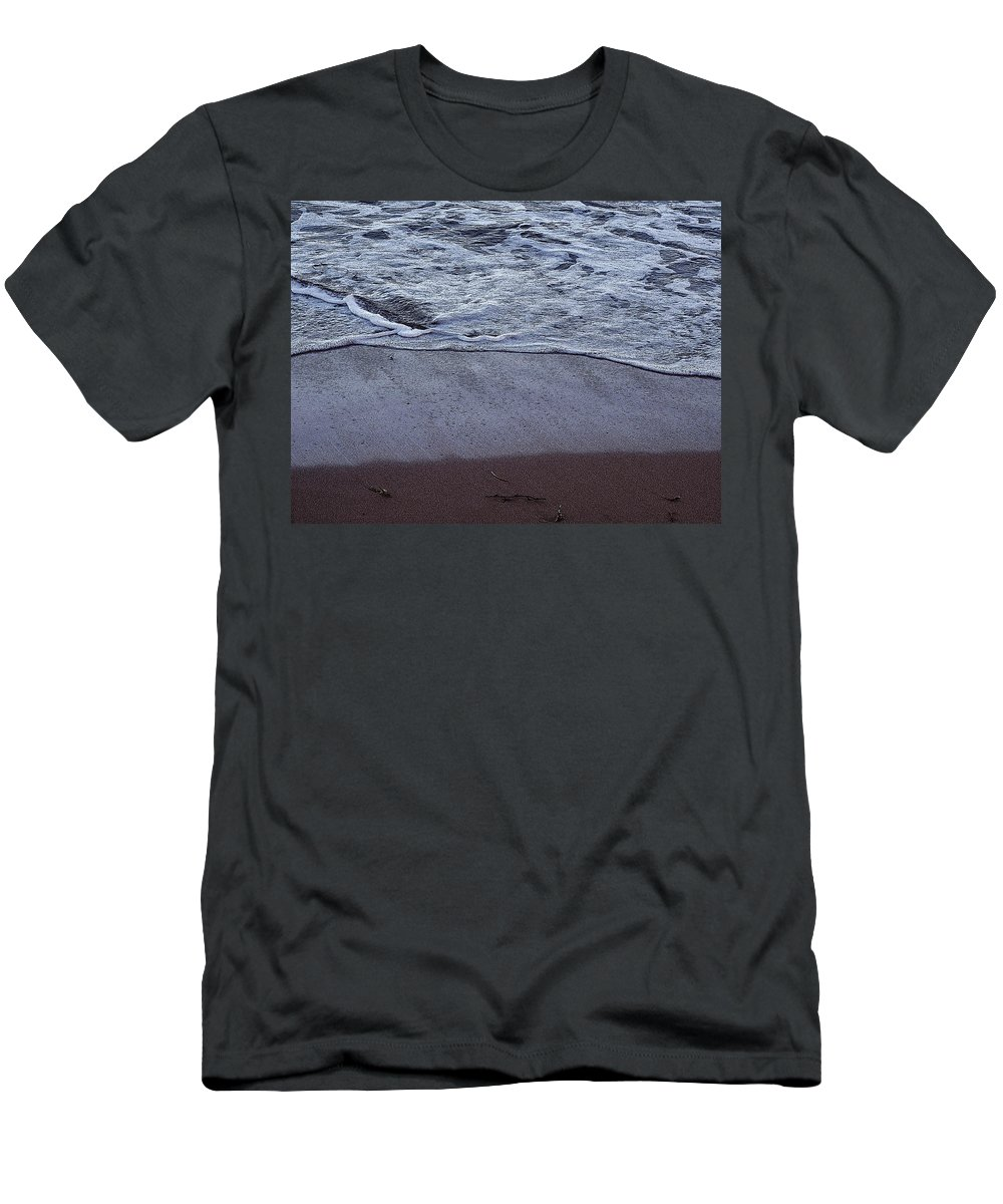 Ocean Men's T-Shirt (Athletic Fit) featuring the photograph Every Grain Of Sand by Ian MacDonald