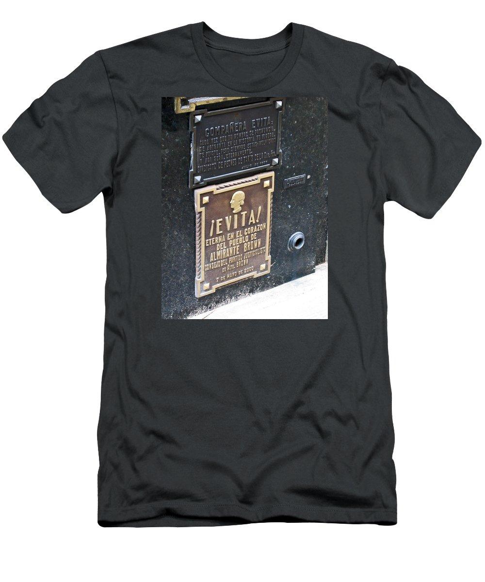 Evita Burial Vault Men's T-Shirt (Athletic Fit)