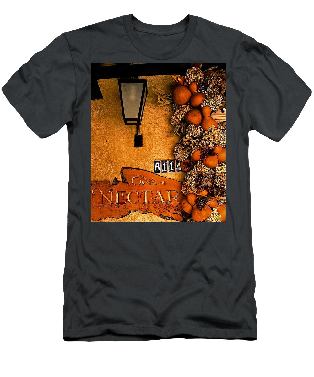 Fall Men's T-Shirt (Athletic Fit) featuring the digital art Fall Decoration by Barbara Zahno
