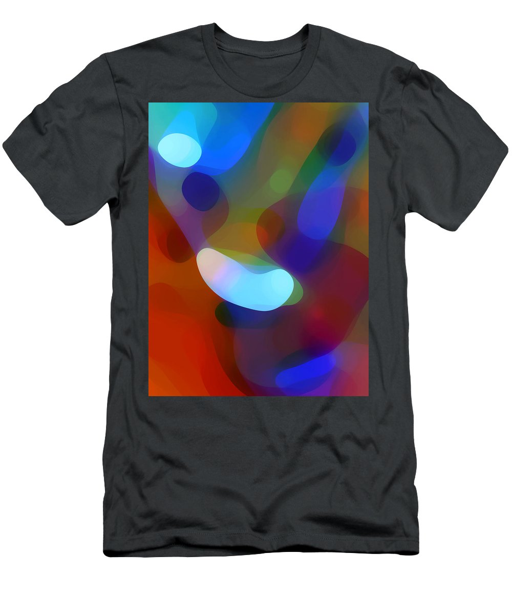 Men's T-Shirt (Athletic Fit) featuring the painting Falling Light by Amy Vangsgard