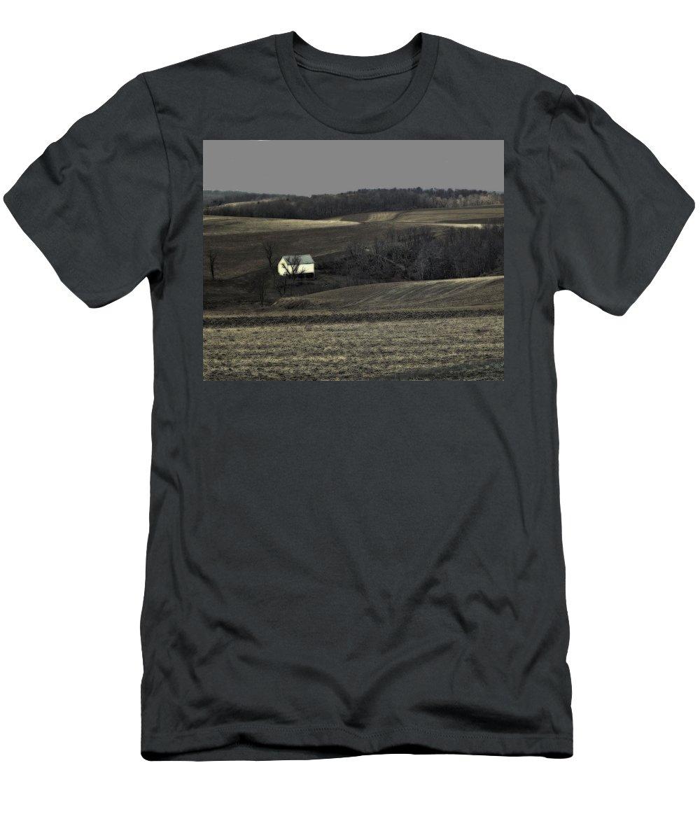 Farm Men's T-Shirt (Athletic Fit) featuring the photograph Farm 1 by John Feiser