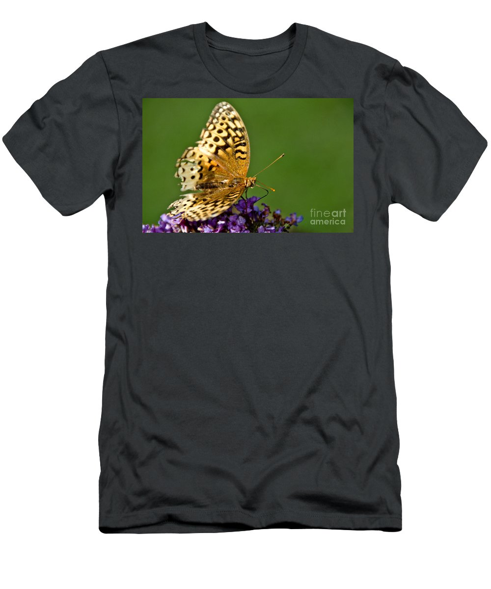 Men's T-Shirt (Athletic Fit) featuring the photograph Feasting by Cheryl Baxter