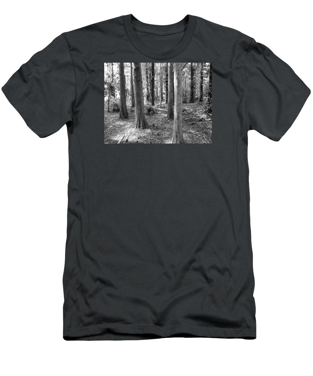 Natural Florida Landscape Men's T-Shirt (Athletic Fit) featuring the photograph Florida 521 Years Ago by Terry Baker