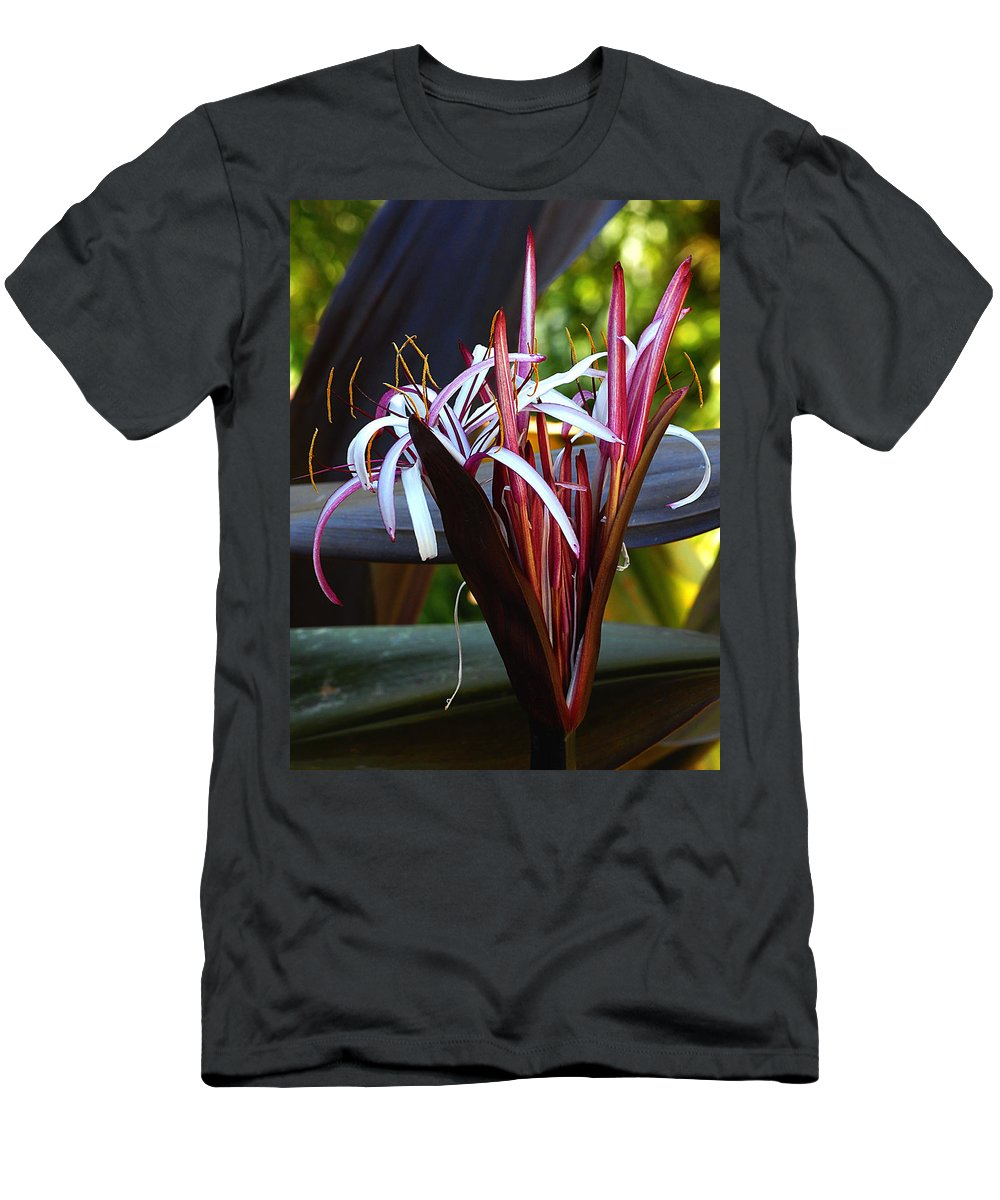 Flowers Men's T-Shirt (Athletic Fit) featuring the photograph Unknown Flower by Steve Archbold