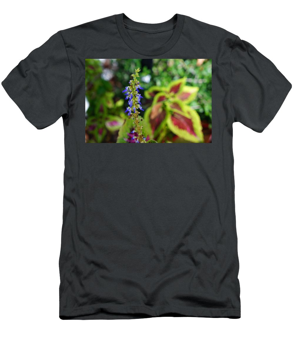 Ronald Chacon Men's T-Shirt (Athletic Fit) featuring the photograph Flowers 5 by Ronald Chacon