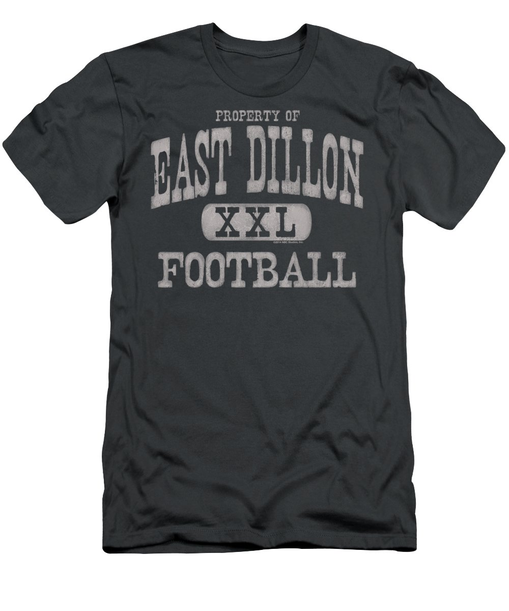 T-Shirt featuring the digital art Friday Night Lights - Property Of by Brand A