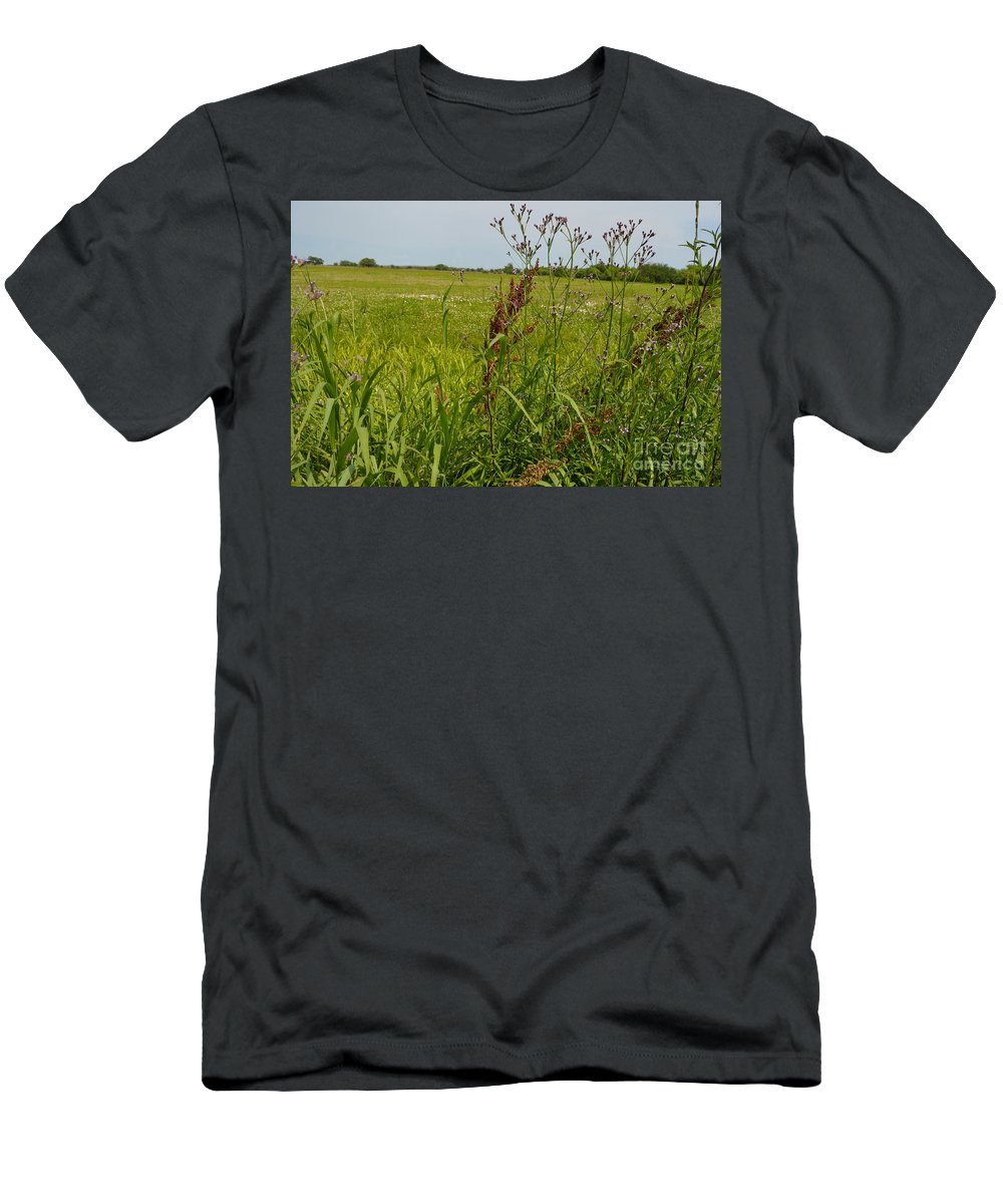 Battle Of New Orleans Men's T-Shirt (Athletic Fit) featuring the photograph From A Soldier's Perspective by Alys Caviness-Gober