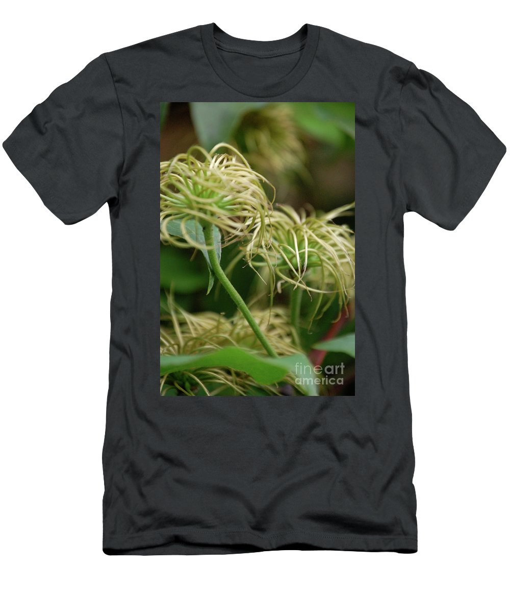 First Star Art Men's T-Shirt (Athletic Fit) featuring the photograph Fronds By Jammer by First Star Art