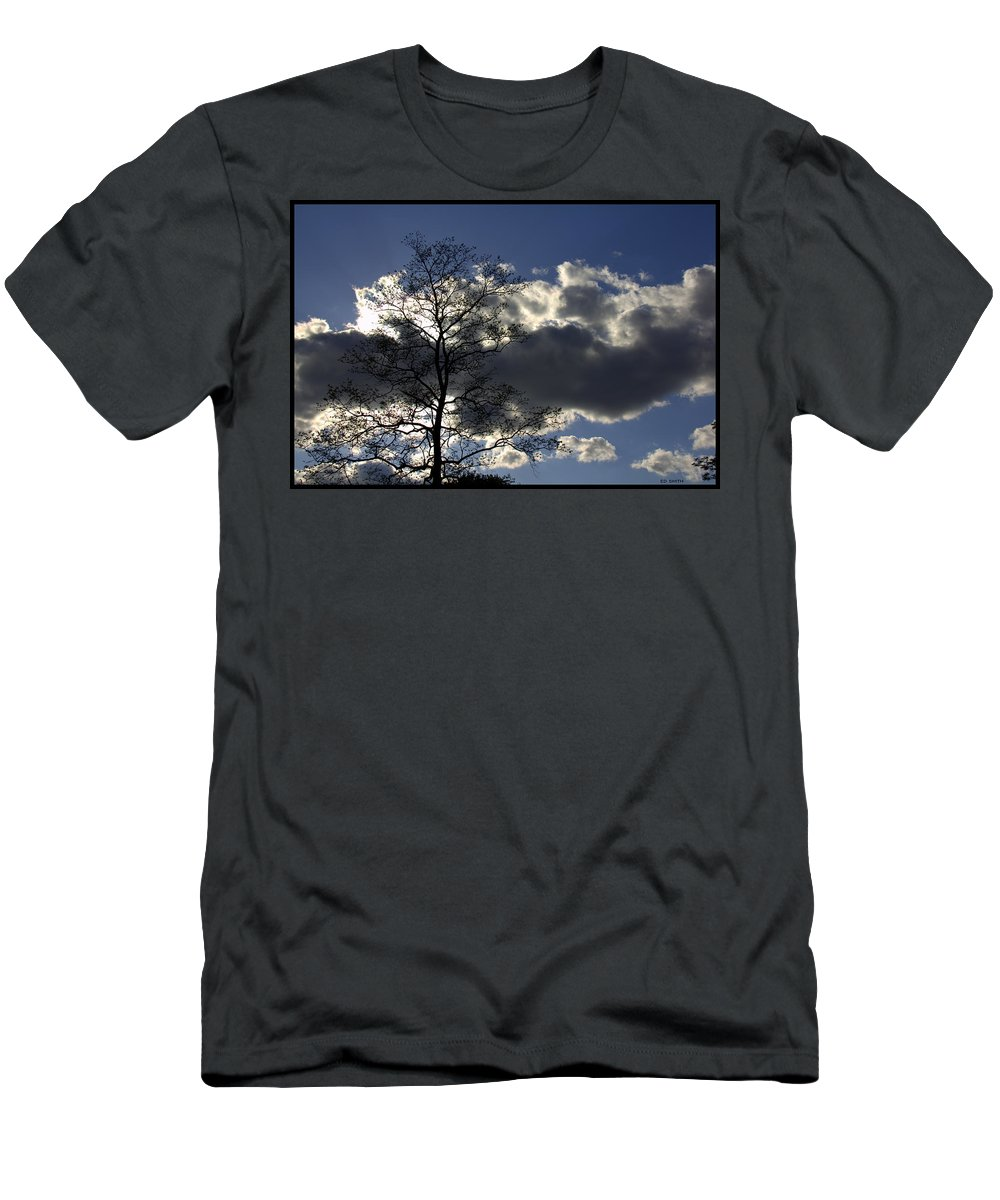 Give Me Strength Men's T-Shirt (Athletic Fit) featuring the photograph Give Me Strength by Ed Smith