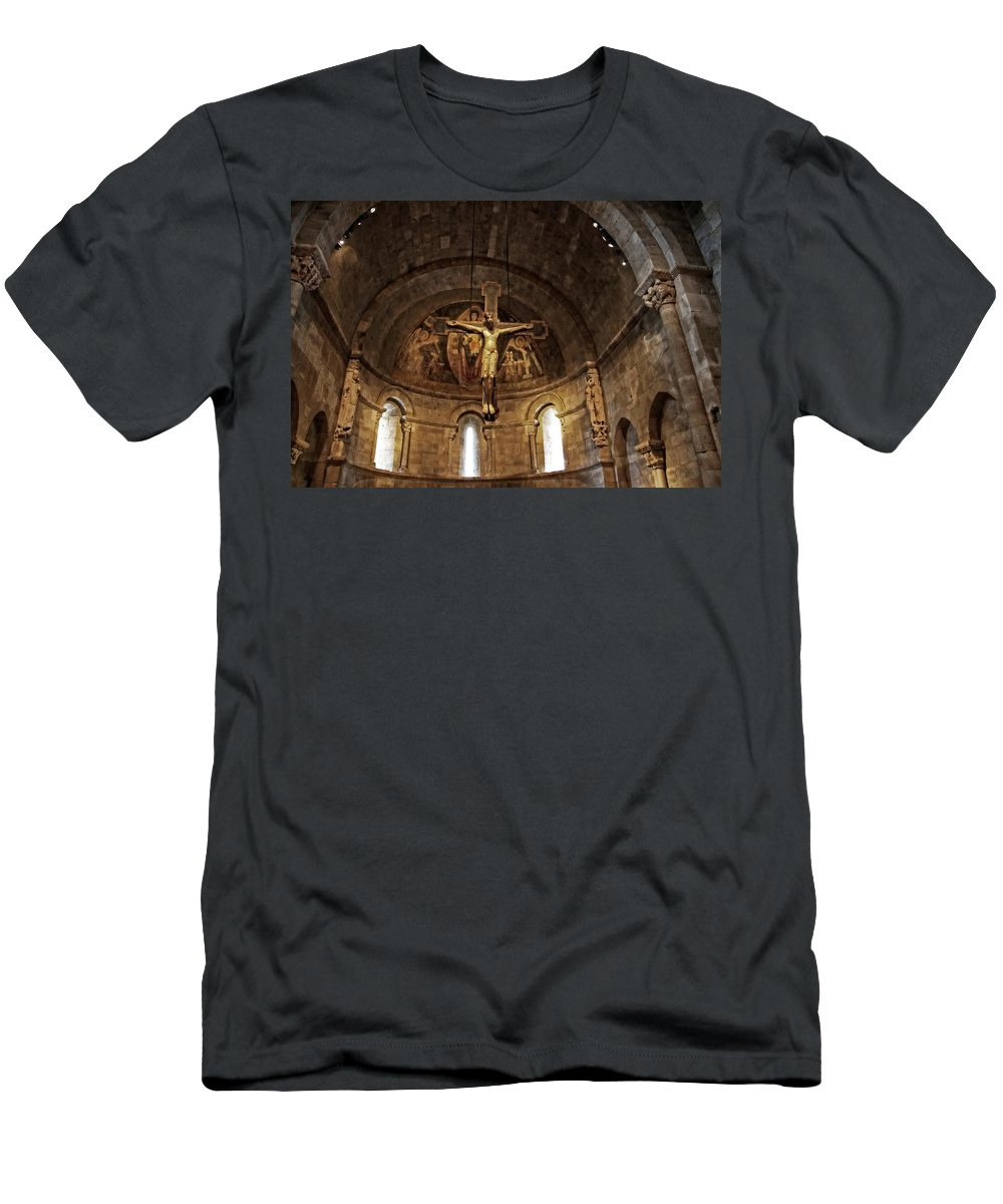 Jesus Men's T-Shirt (Athletic Fit) featuring the photograph Glorious by Alice Gipson