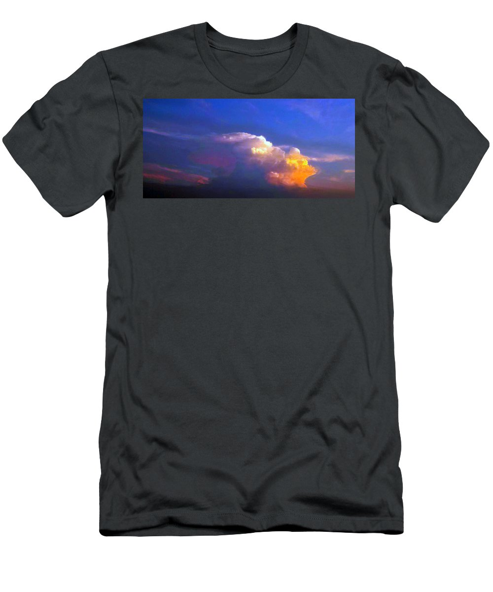 Sky Men's T-Shirt (Athletic Fit) featuring the photograph God's Grace by Kimberlee Marvin