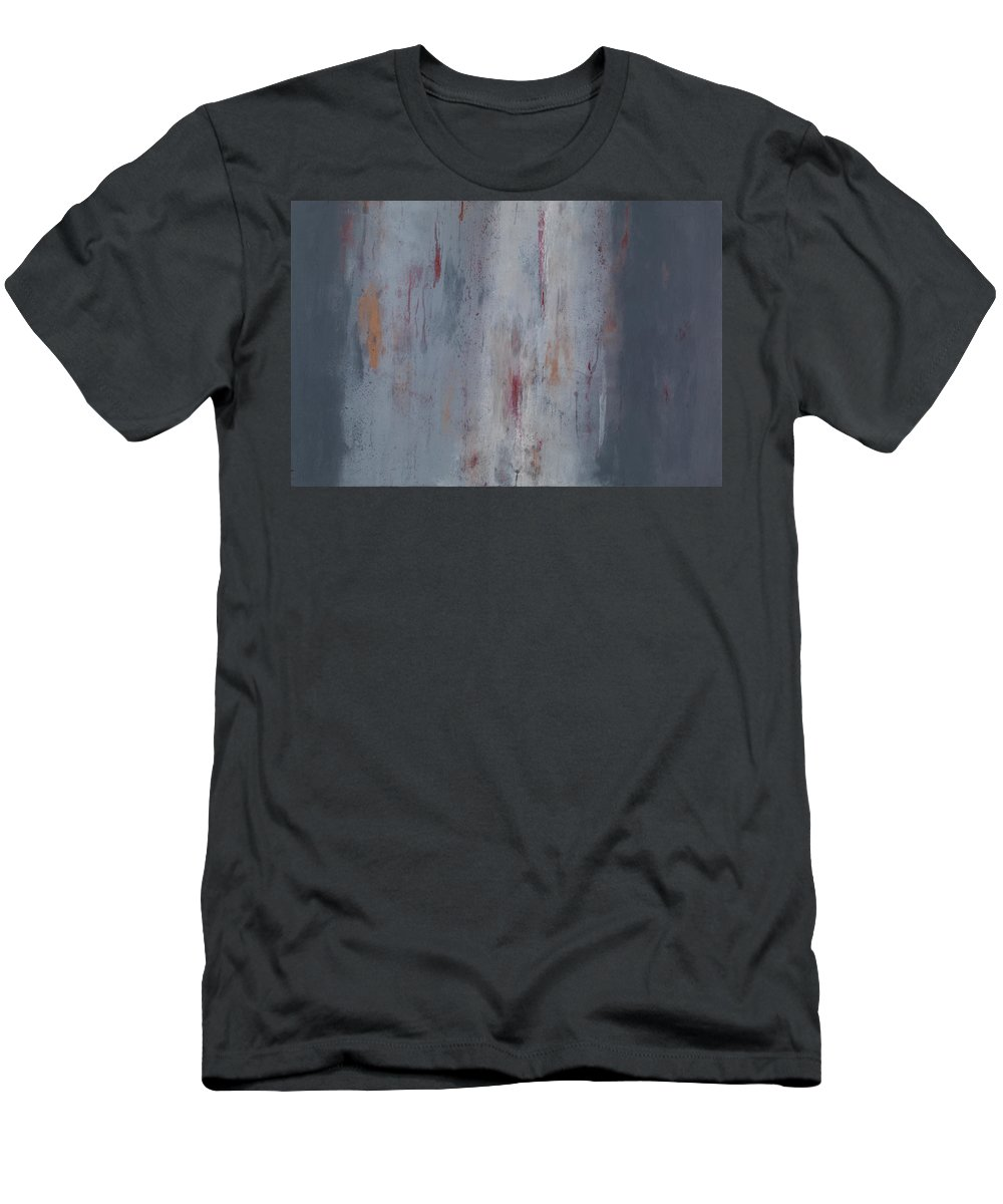 Mississippi Men's T-Shirt (Athletic Fit) featuring the painting Goin' With The Flow by Mark Witzling