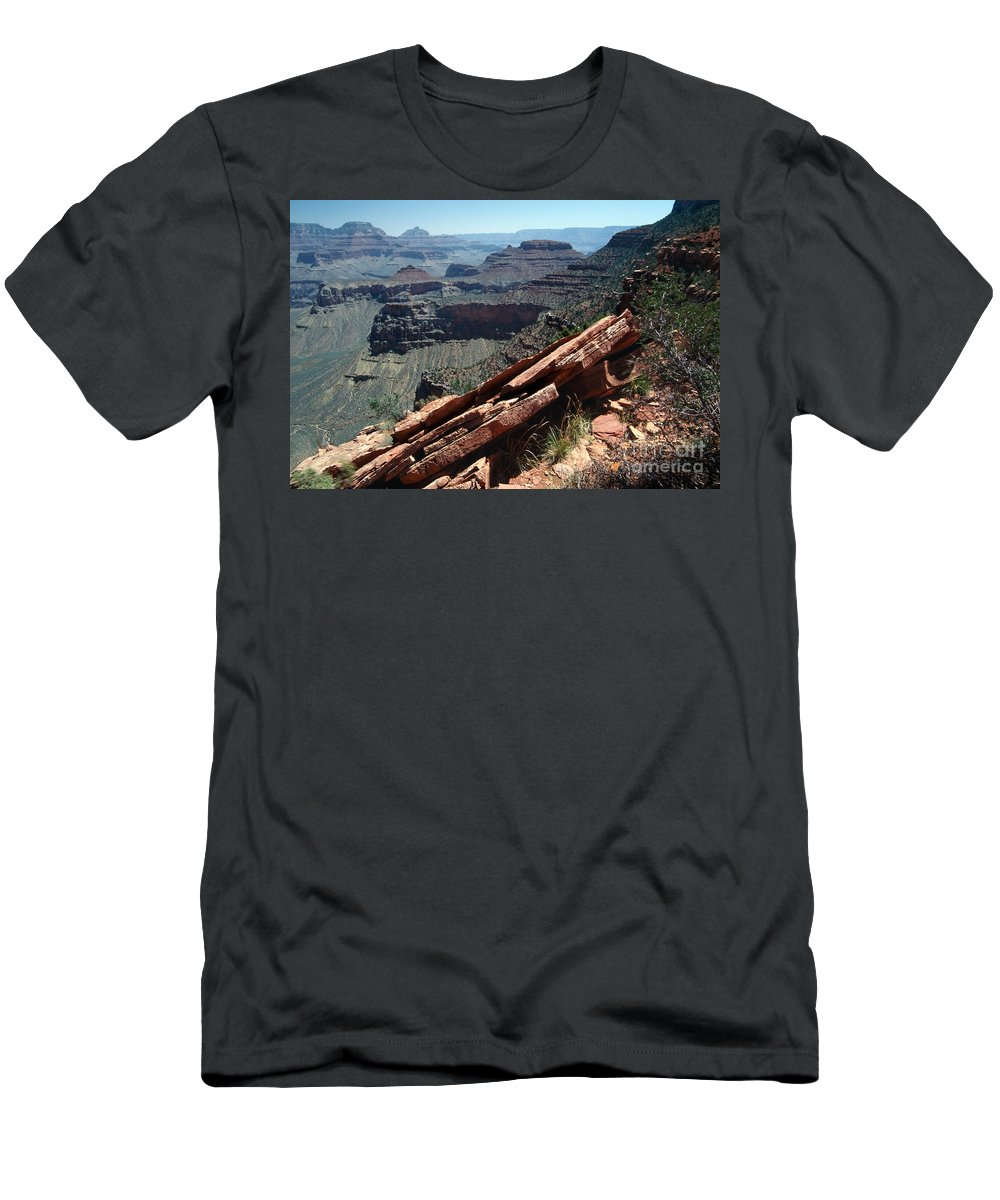 Grand Canyon Men's T-Shirt (Athletic Fit) featuring the photograph Grand Canyon by Bruce Bain