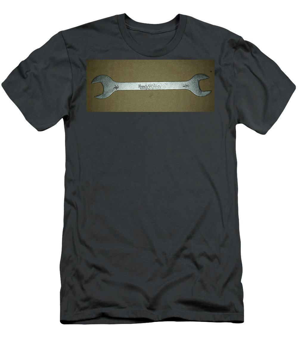 Handy Andy Wrench Men's T-Shirt (Athletic Fit) featuring the photograph Handy Andy Wrench by Ernie Echols