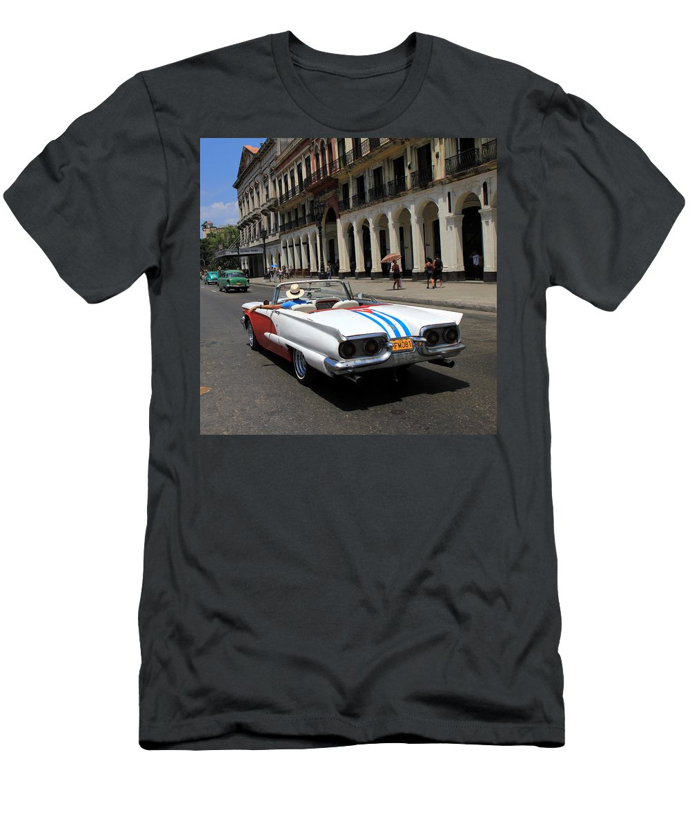Havana Men's T-Shirt (Athletic Fit) featuring the photograph Havana 8 by Andrew Fare