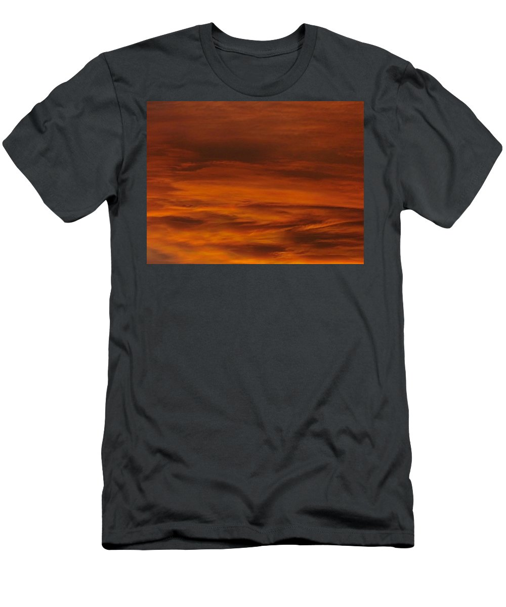 Cloud Men's T-Shirt (Athletic Fit) featuring the photograph Hot Skies by Greg Boutz