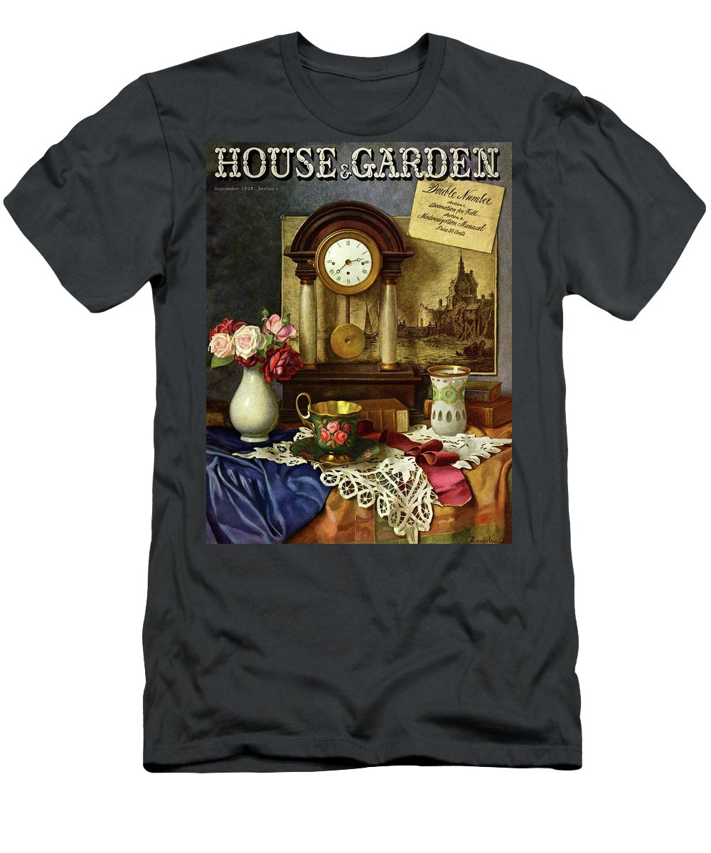 House And Garden T-Shirt featuring the photograph House And Garden Cover by Robert Harrer