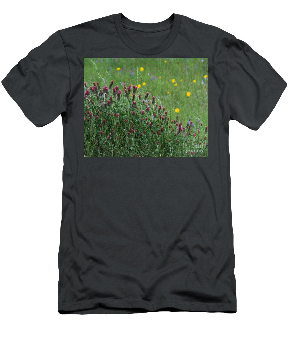 Spring Men's T-Shirt (Athletic Fit) featuring the photograph I55 Eye Candy by Lizi Beard-Ward