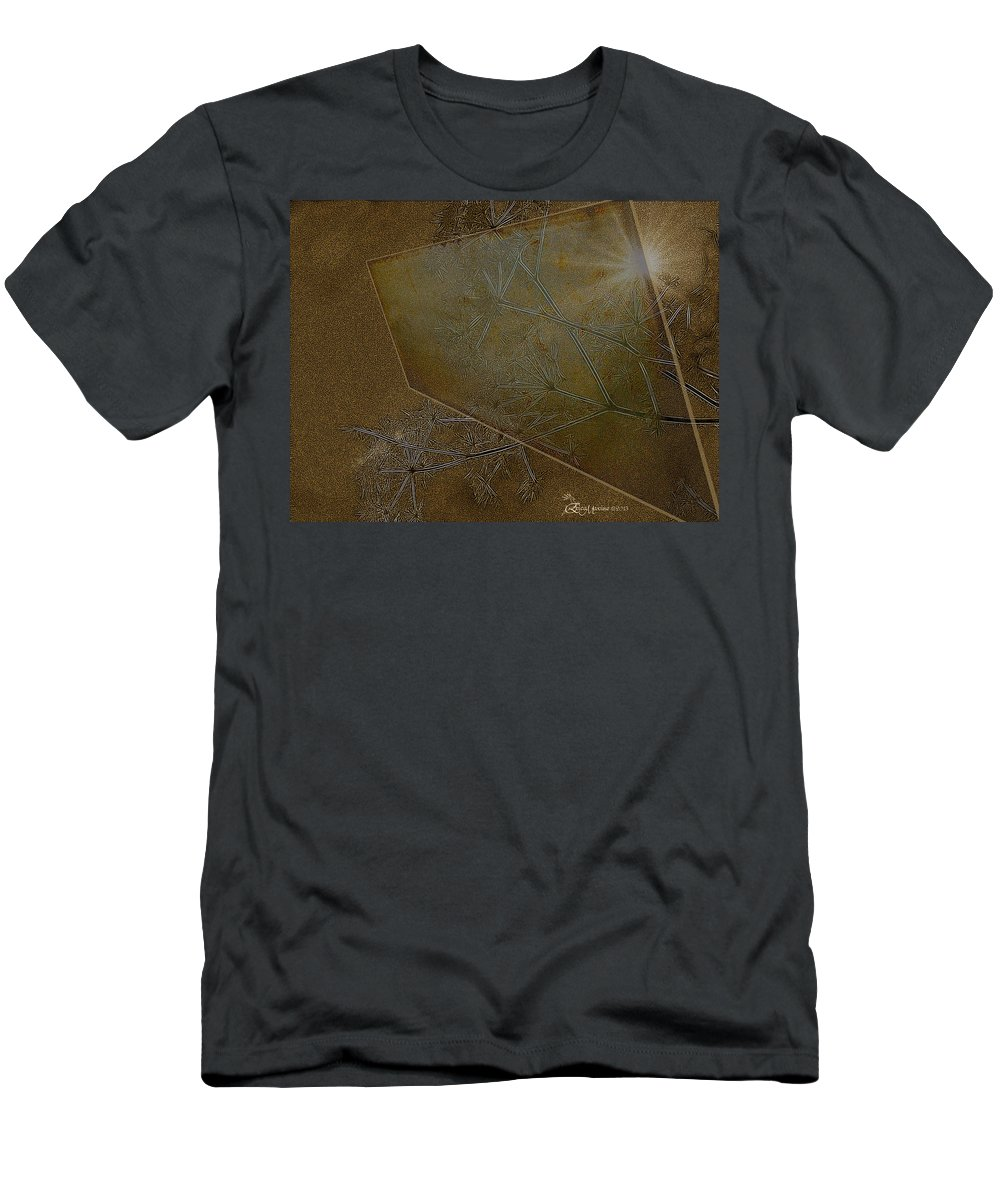 Weeds Men's T-Shirt (Athletic Fit) featuring the photograph Illusions by Ericamaxine Price