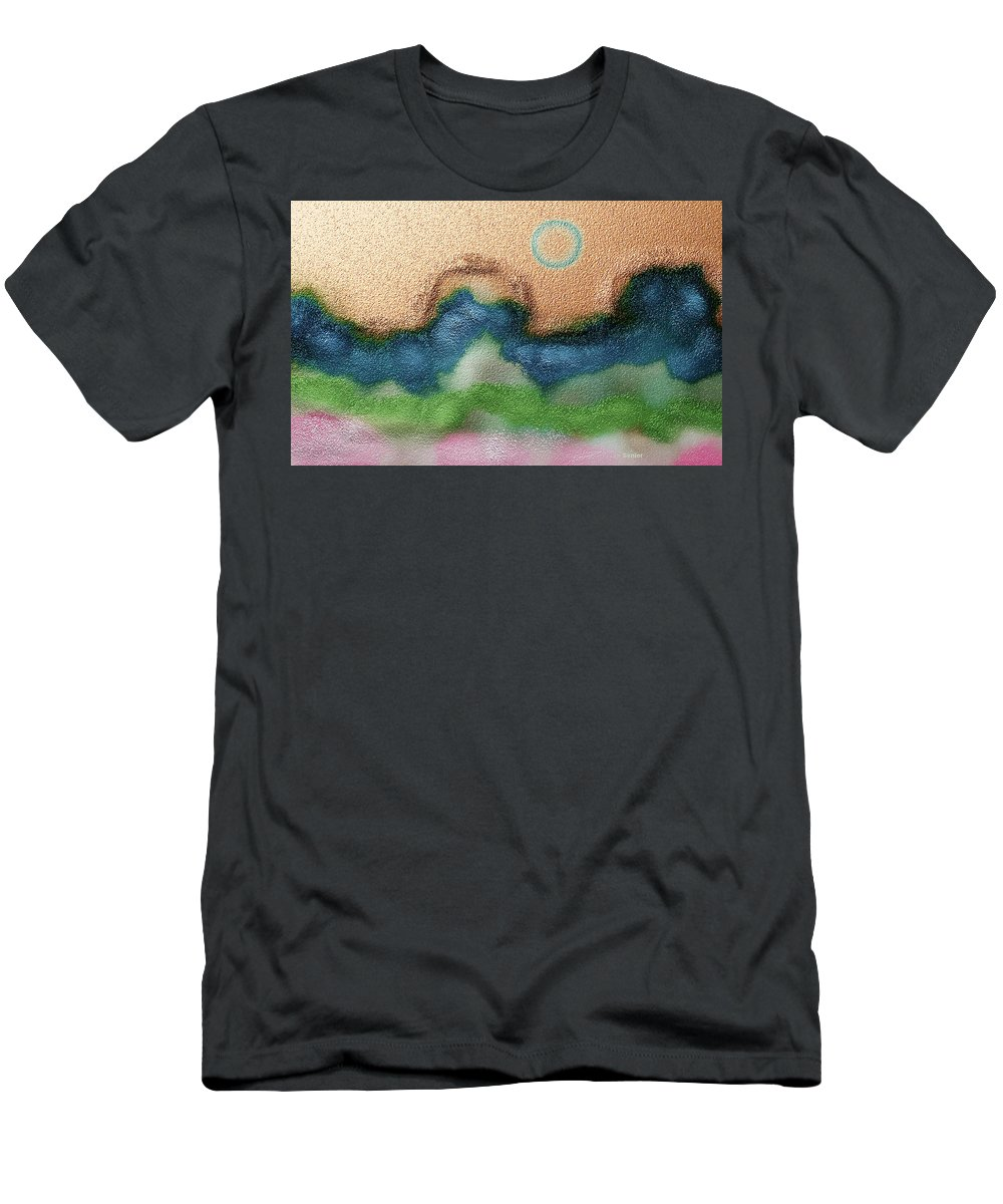 Expressive Men's T-Shirt (Athletic Fit) featuring the digital art Imagination by Lenore Senior