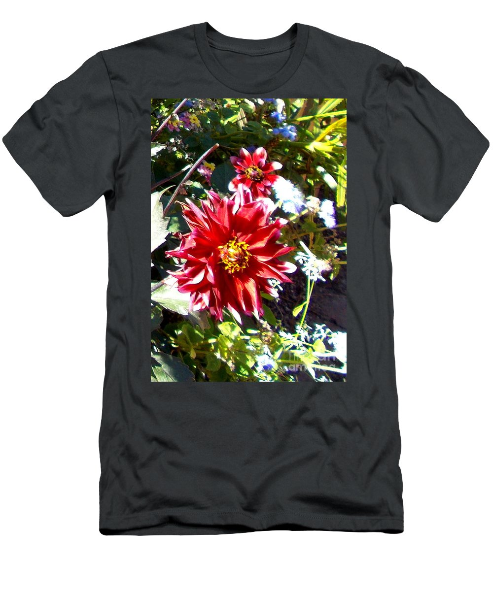 Flower Men's T-Shirt (Athletic Fit) featuring the photograph In Full Bloom by Pamela Hyde Wilson