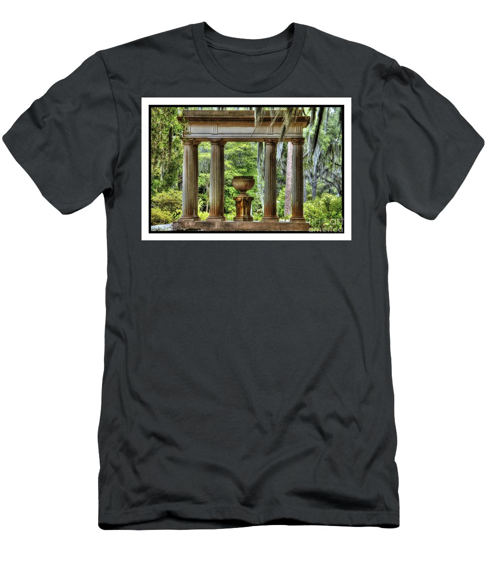 Cemetery Men's T-Shirt (Athletic Fit) featuring the photograph In Peace by Traci Law