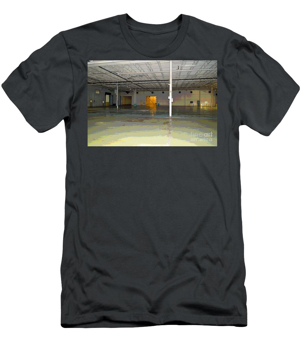 Industrial Men's T-Shirt (Athletic Fit) featuring the photograph Industrial 4 by Alys Caviness-Gober