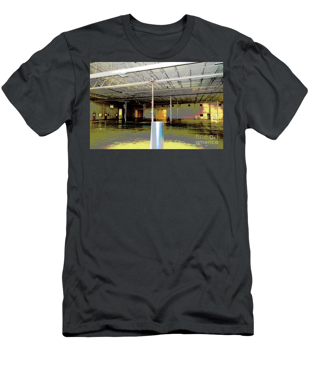 Industrial Men's T-Shirt (Athletic Fit) featuring the photograph Industrial 6 by Alys Caviness-Gober