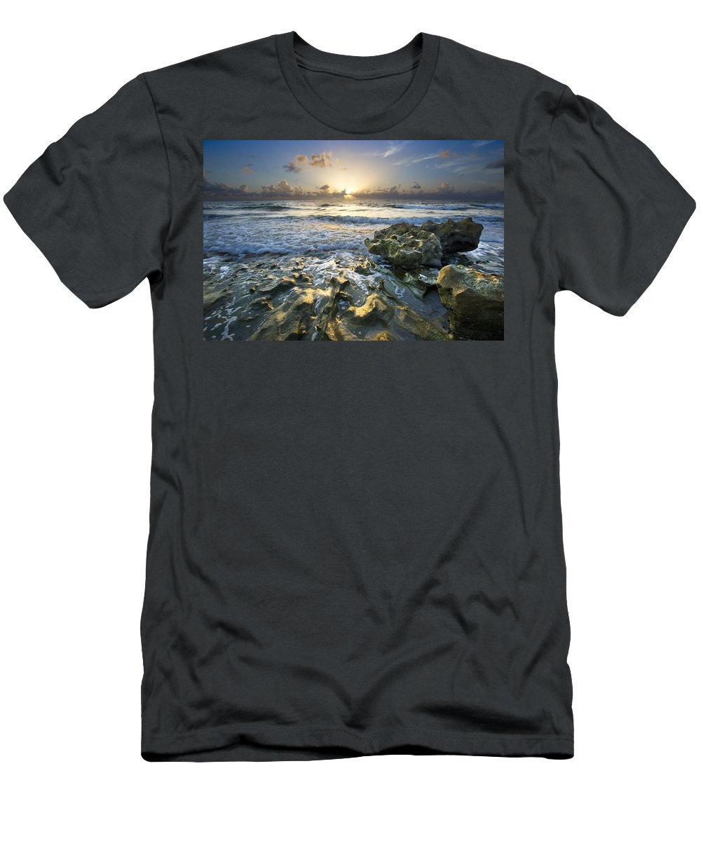 Clouds Men's T-Shirt (Athletic Fit) featuring the photograph Inspired by Debra and Dave Vanderlaan