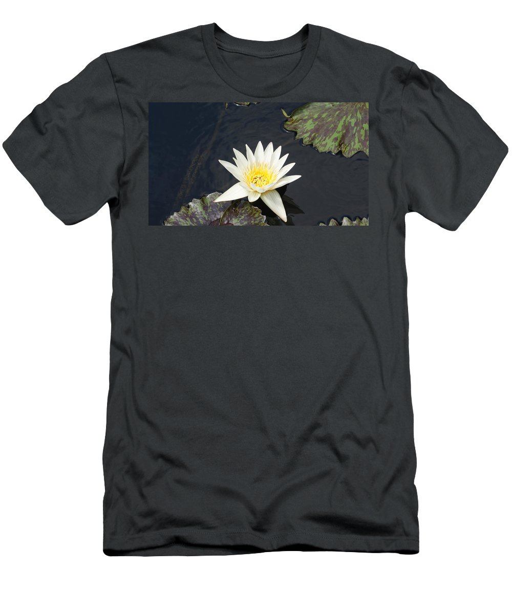 White Men's T-Shirt (Athletic Fit) featuring the photograph Into The Center...  # by Rob Luzier