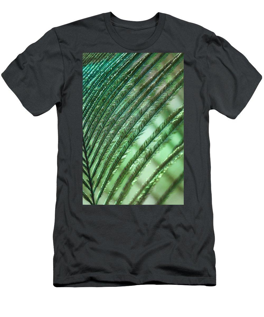 Lisa Knechtel Men's T-Shirt (Athletic Fit) featuring the photograph Iridescent Dreams by Lisa Knechtel