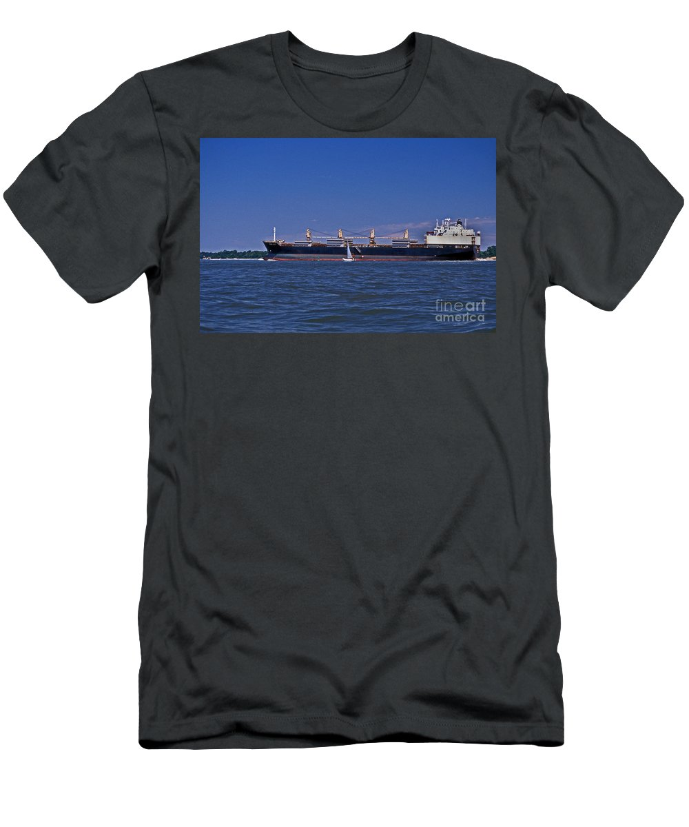 Maritime Men's T-Shirt (Athletic Fit) featuring the photograph Is Big Really Better by Skip Willits