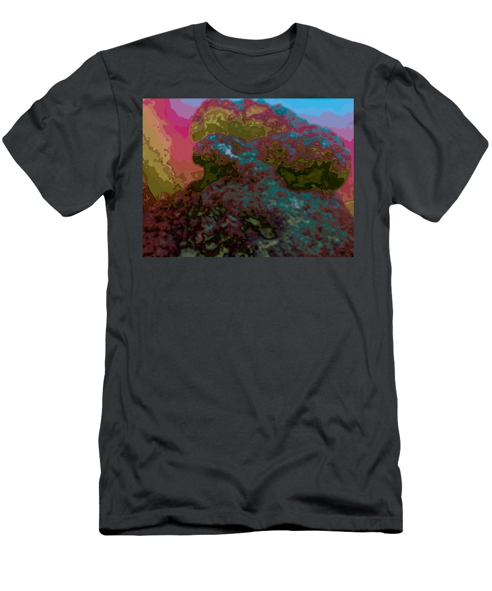 Abstract Men's T-Shirt (Athletic Fit) featuring the digital art It Is What It Is by James Kramer