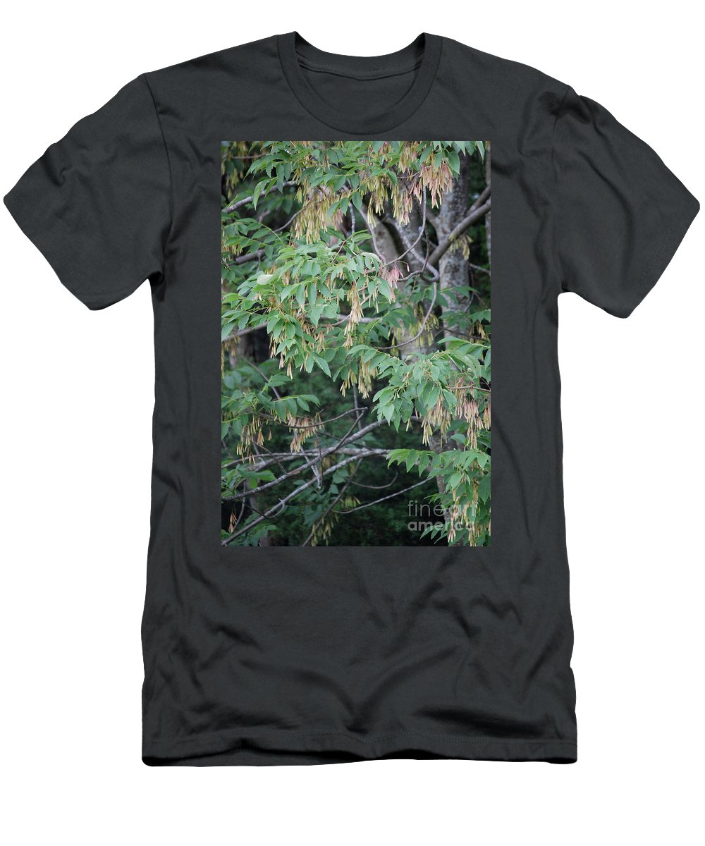 Irst Star Art Men's T-Shirt (Athletic Fit) featuring the photograph jammer Dripping Seeds by First Star Art
