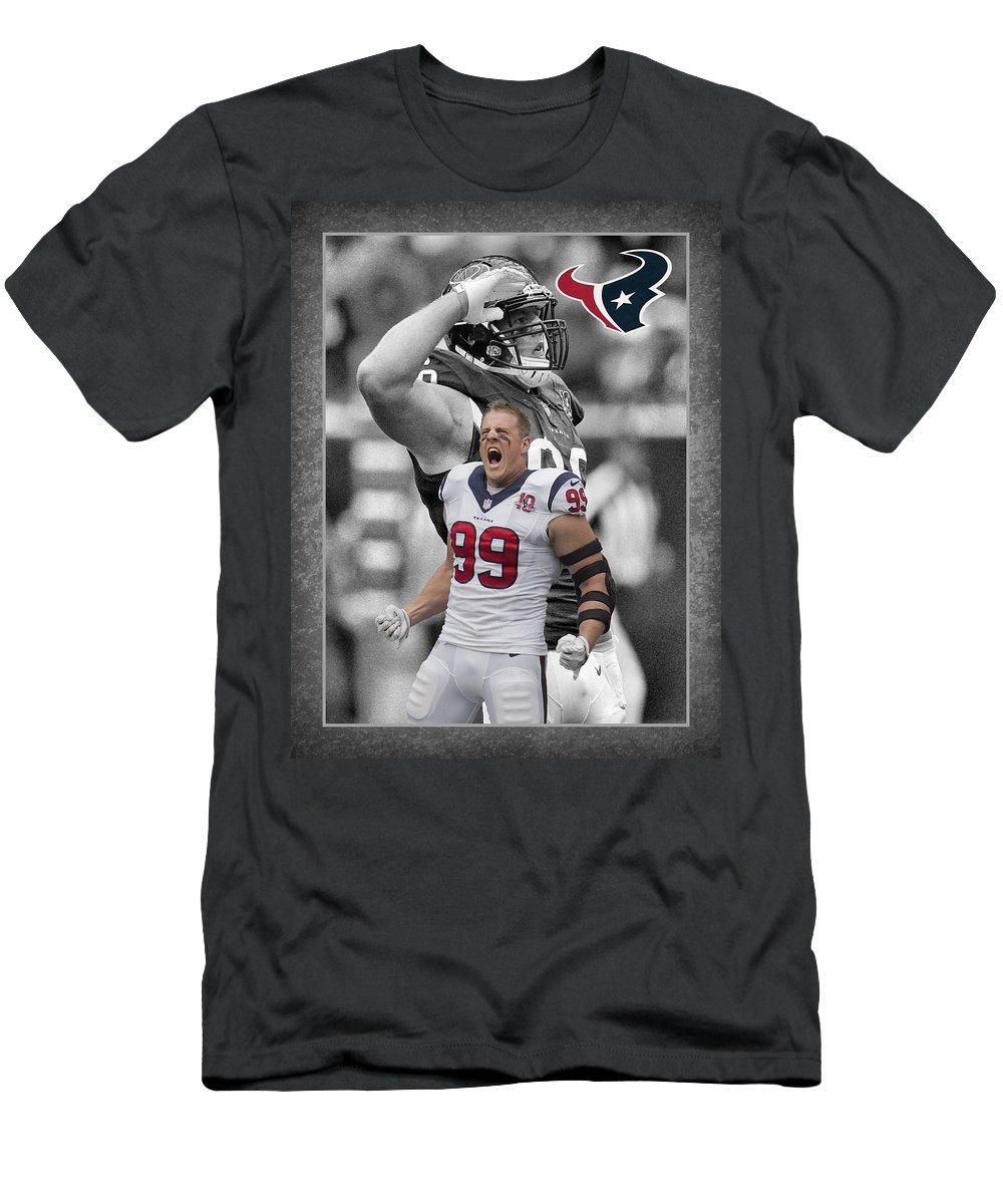 Jj Watt Texans T Shirt For Sale By Joe Hamilton