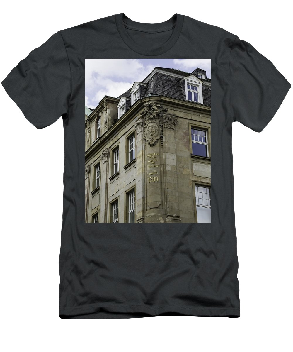 2014 Men's T-Shirt (Athletic Fit) featuring the photograph Johann Maria Farina Factory Cologne Germany by Teresa Mucha