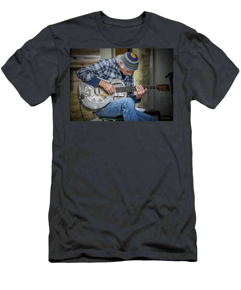 2d Men's T-Shirt (Athletic Fit) featuring the photograph John Decker by Brian Wallace