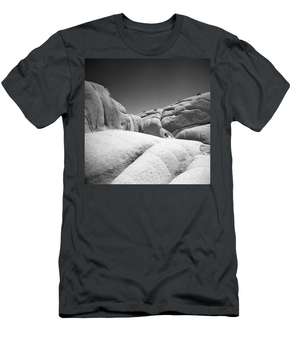 Joshua Tree Men's T-Shirt (Athletic Fit) featuring the photograph Joshua Tree Holga 7 by Alex Snay