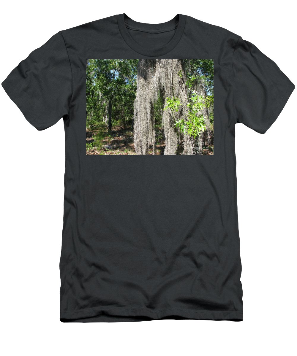 Patzer Men's T-Shirt (Athletic Fit) featuring the photograph Just The Backyard by Greg Patzer