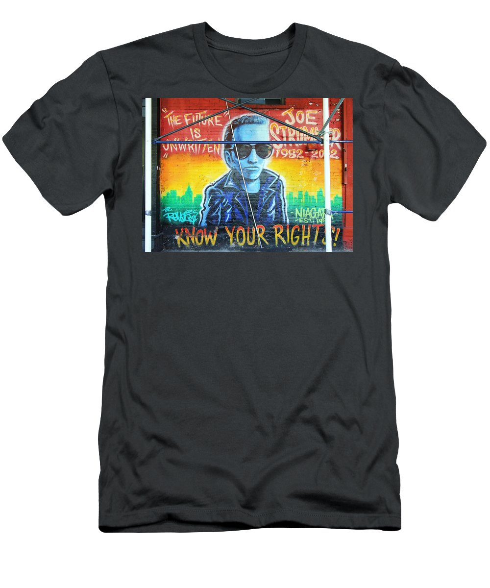 Know Your Rights Men's T-Shirt (Athletic Fit) featuring the photograph Know Your Rights by Allen Beatty