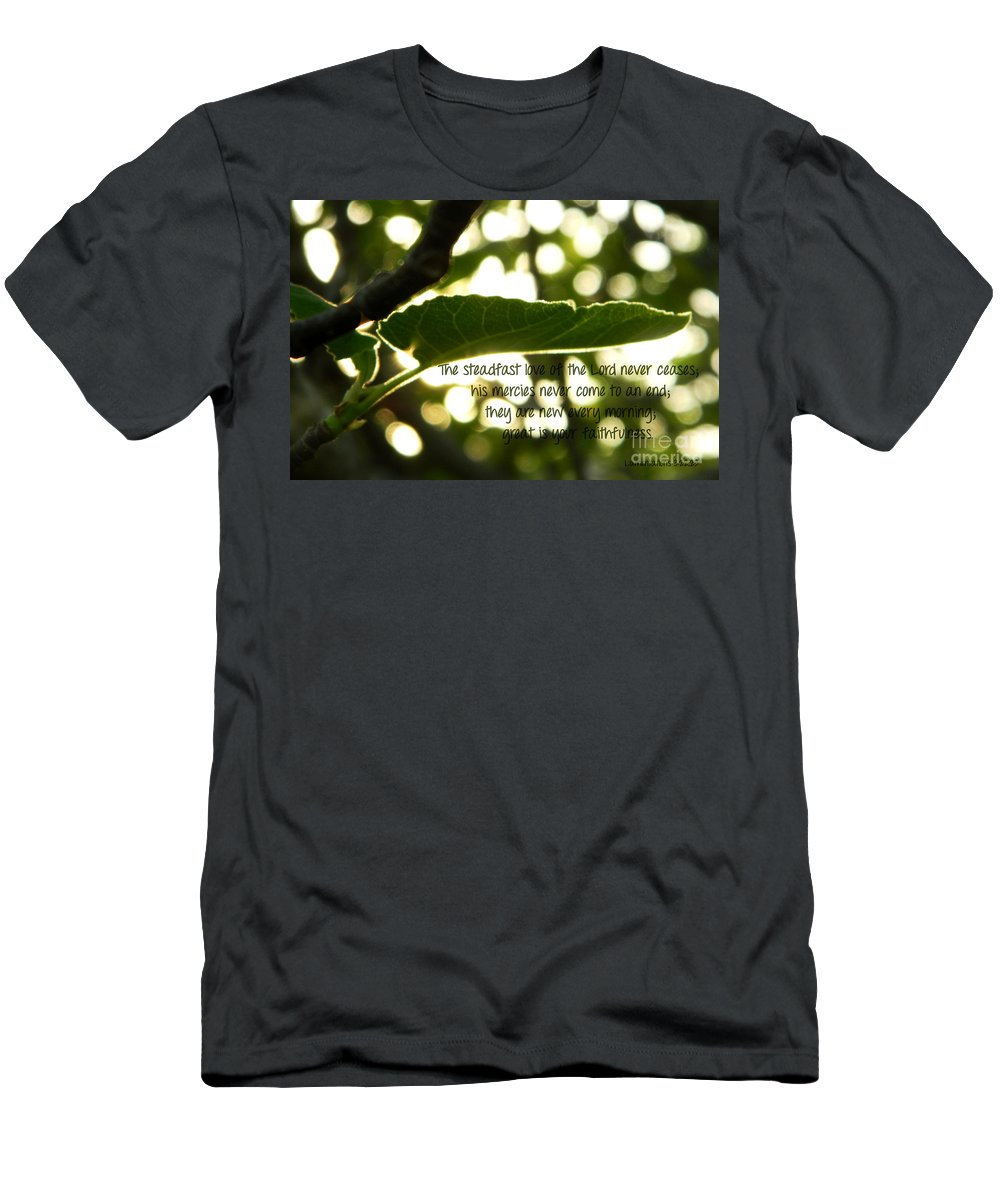 Lamentations Men's T-Shirt (Athletic Fit) featuring the photograph Lamentations 3 by Andrea Anderegg