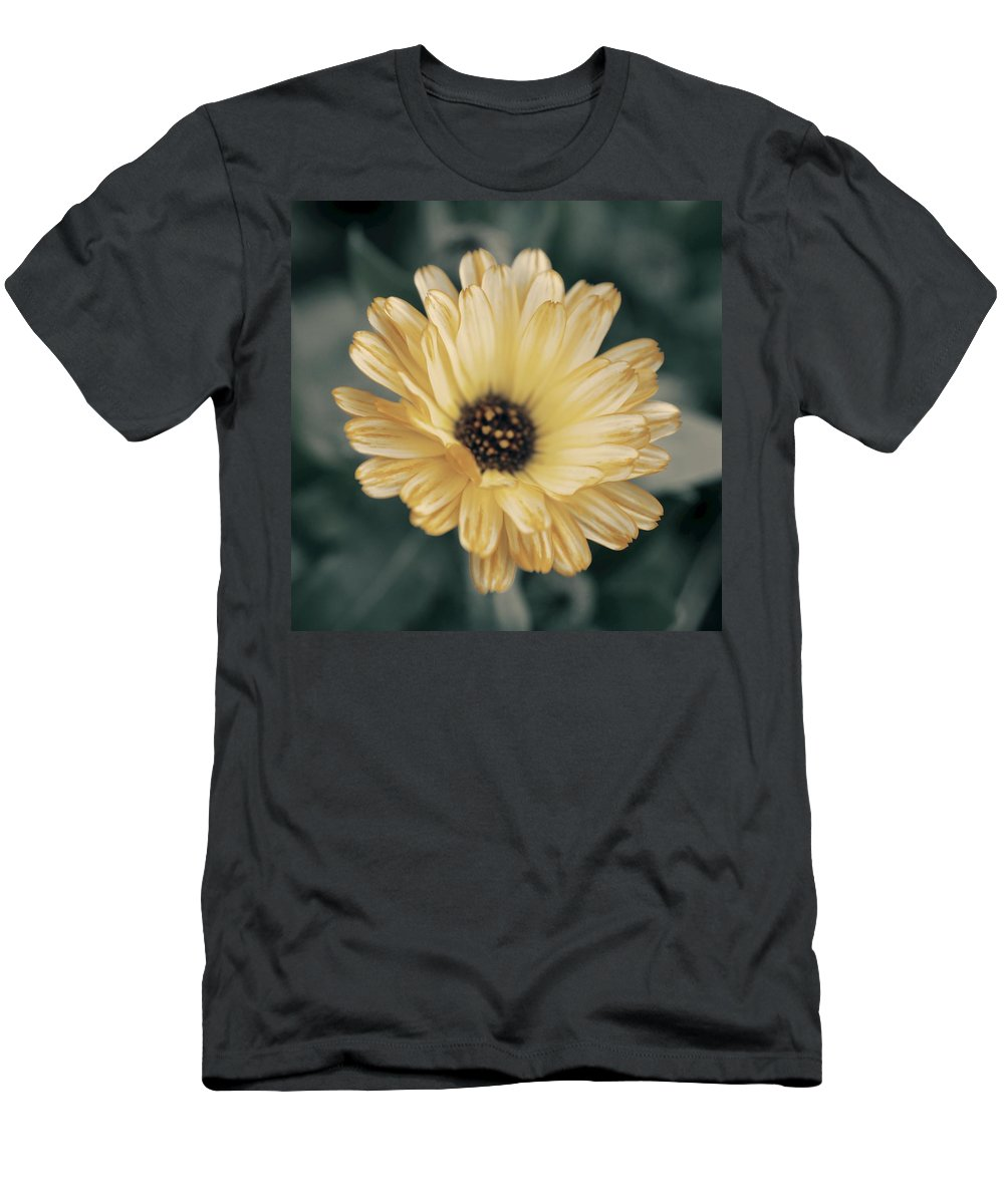 Matt Matekovic Men's T-Shirt (Athletic Fit) featuring the photograph Late Bloomer by Photographic Arts And Design Studio