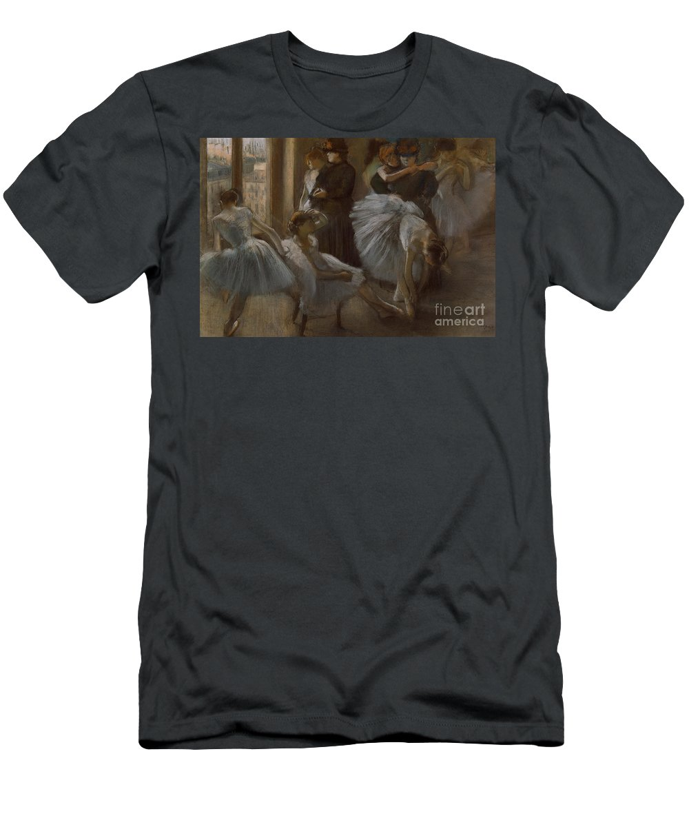 Dancer T-Shirt featuring the painting Le Foyer de l'Opera by Edgar Degas