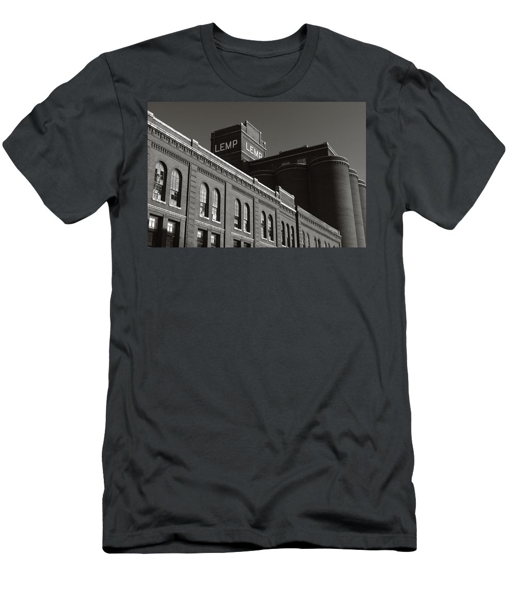 Lemp Brewery Men's T-Shirt (Athletic Fit) featuring the photograph Lemp Complex by Scott Rackers