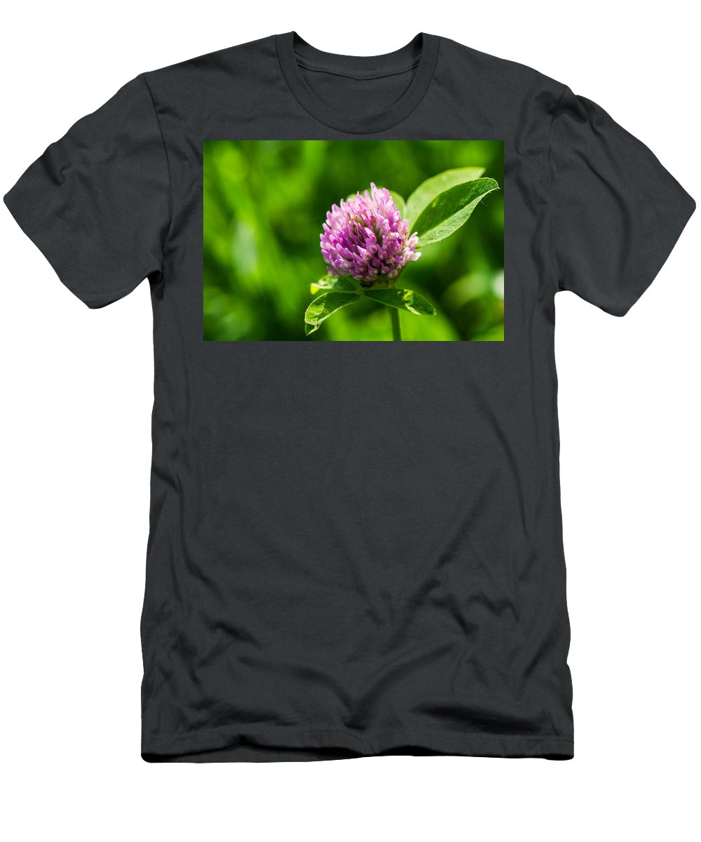Beautiful Men's T-Shirt (Athletic Fit) featuring the photograph Let Us Live In Clover - Featured 3 by Alexander Senin