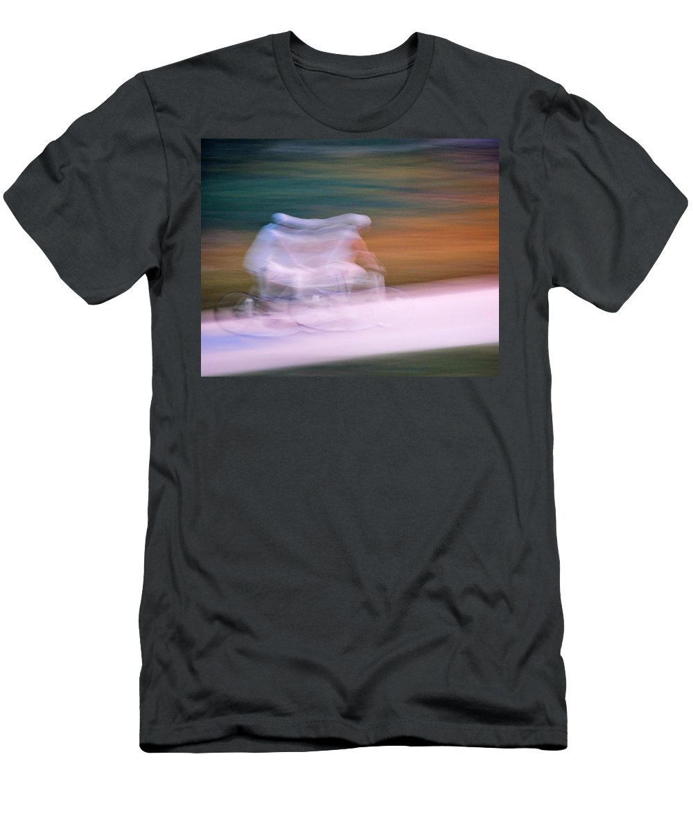 Abstract Men's T-Shirt (Athletic Fit) featuring the photograph Life Cycle by Gene Tatroe